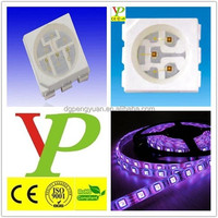 top-brighting good sell 5050 smd uv led 365nm