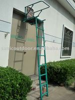 New!Telescopic aluminum ladder stand/folding hunting tree stand