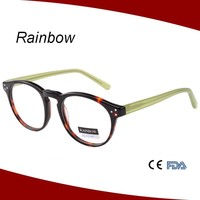 2015 Fashion trend color beautiful optic eyeglasses for girls