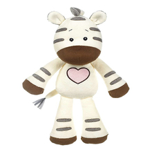 high quality animal zebra stuffed plush toys