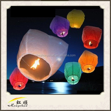Yiwu factory wholesale multi-choice colors&different size paper lanterns sky paper lanterns wedding lanterns