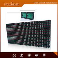 PanaTorch Factory Price P10RG Advertising LED Display Module IP65 Waterproof metal/Aluminum cabinet For sign board