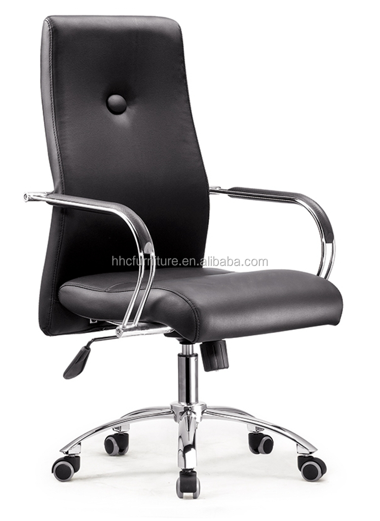 Hc B298 Office Furniture Modern Office Conference Chairs Black Leather Meetin