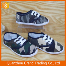 Good quality camouflage canvas shoes
