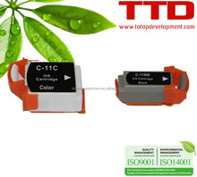 TTD Compatible Ink Cartridge BCI-11 BCI11 for Canon BJC-50,55,70,80,85,85PW Cartridge