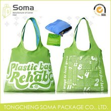 Customized promotional woman shopping bag
