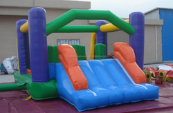 kids playing good quality 0.55mm pvc funny play party obstacle inflatable