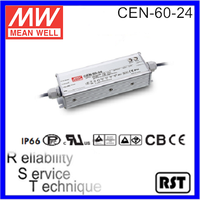 CEN-60-24 Single Output meanwell 60W 24V LED Power Supply