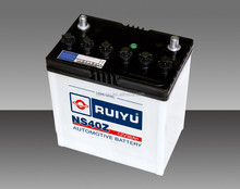 Dry Charged Battery Type and 12V Voltage Car Battery In Auto Battery