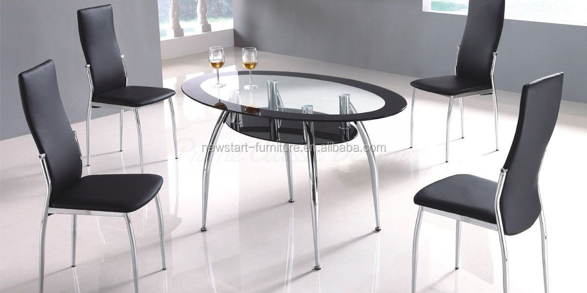 Wholesale TB127 Hot selling round glass dining table and  : TB127 Hot selling round glass dining table from alibaba.com size 1200 x 600 jpeg 93kB