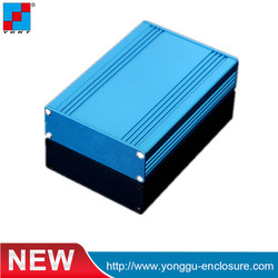 82.8*28.8*110mm Industrial Aluminum Extruded Enclosure For Electronic