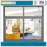 French Aluminum Window,Curved Sliding Window,Top Hung Window for Sale 3426