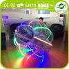 2015 Certification 1.0mm PVC/TPU LED jogar bumper ball,football ball,bubble ball for football