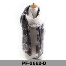 New Fashion Double Sided Women's Pashmina Shawl Scarf Wrap Pattern Printed Floral Shawl