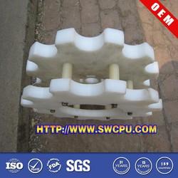 Plastic Double Sprocket Gear