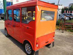 orange smart electric van for Philippines