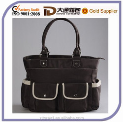 High quality promotional tote diaper bag for baby