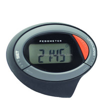 Big LCD display Promotion pedometer with 2D seonsor pedometer for promotion with calories counter pedometer