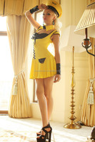 sexy taxi driver costume ,women taxi drivers costume,sexy business woman costume