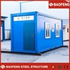 elegant modified prefab living flat pack container house with bathroom