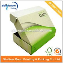 Custom Printed paper shoe box pattern