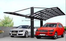 Outdoor Two Car Shelters , Motorcycle Car Garage Shelter Canopy