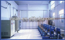 industrial paint storage room