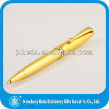 supply low cost classical promotional Gold metal ballpoint pen