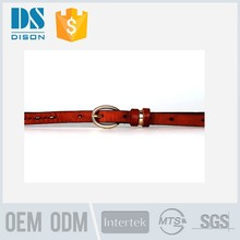 2015 browning slim eyelet leather belt in pure cow leather for bad fashion girls