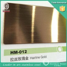 Alibaba China 1.2mm 304 hairline surface stainless