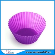 Food Grade Colorful Custom Silicone Bake Mold ,Wholesale DIY Silicone Cupcake Mold