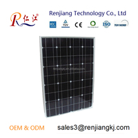 high solar cell efficiency Photovoltaic pv solar panel 50w mono for solar solutions with best price for sale factory direct