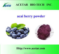 ISO Factory supply Super Antioxidant Products Acai berry extract Powder 4:1 10:1 TLC