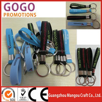 hottest personalized silicone wristband keychain, new design Fashion Silicone Key Chain, silicone key holder wristbands