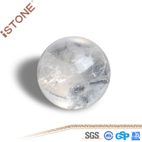 High Quality Small Natural Rock Clear Quartz Crystal Ball For Home Decoration