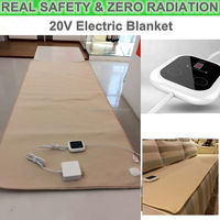 Portable popular custom electric thermal blanket for warming sofa