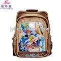 2014 niños de dibujos animados bolso de escuela para estudiantes de primaria