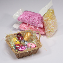 easter artificial color plastic decorative grass