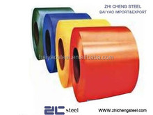 used for electrical products PPGL coil with colored film coated