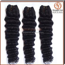 100% real human hair virgin brazilian deep wave hairstyles for black women