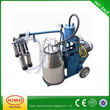 KIMO Newest Electric Piston Portable Single Bucket Milking Machine For Cows