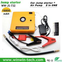 Built-in Compressor,jump start cable