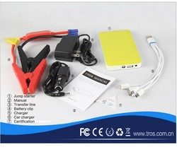 Back Up Power Bank mini car jump starter lithium battery power booster for 4 wheel motorcycle