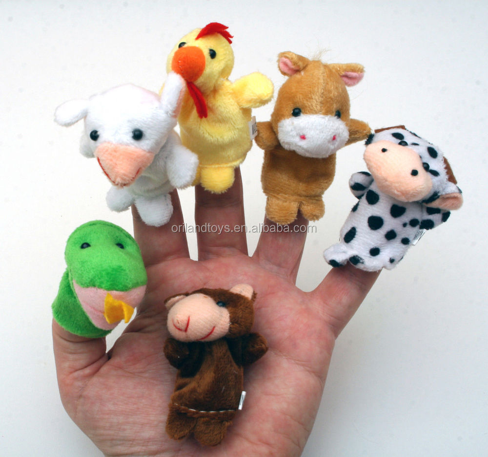 Animais fantoche de dedo e história/design de brinquedos de pelúcia Animal de Pelúcia fantoche de dedo fantoche de Luva