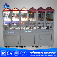 Toy claw machine for shopping mall toy claw machine game