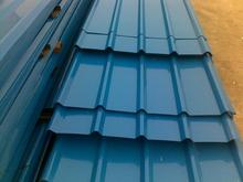 Color Painted Steel Roof Tiles/ Color glazed steel sheet roofing/step tile