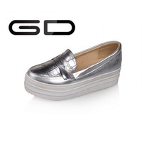 2015 new style women platform ankle silver indian style dress girls shoes for party