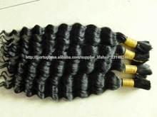 Novo volume do cabelo chegada qualidade superior atacado afro crespo cabelo humano em massa