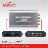 DVB-T2 Factory Directly Car Digital dvb-t2 for Thailand/Russia/Colombia