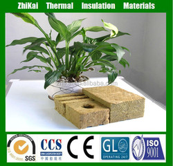 agricultural rock wool cubes for hydroponic planting